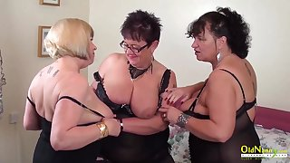 Busty mature BBWs are ready for some dank group sex
