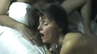 Older Euro Couple Lure A Young Stud For An Intimate Threesome Orgy