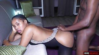 Yummy Ebony Babe - black milf