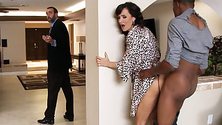 Spouse returned instantly housewife tail find Beamy BLACK COCK