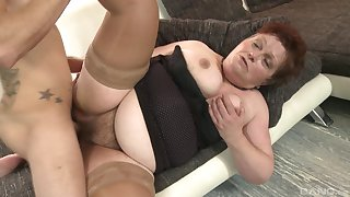 Mature lady Gizou sucks friend's learn of before she takes it badly